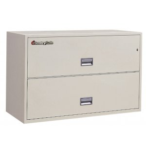 2 Drawer Lateral File Cabinet - Impact Resistant