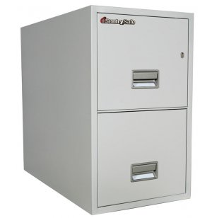2 Drawer Vertical Letter File Cabinet