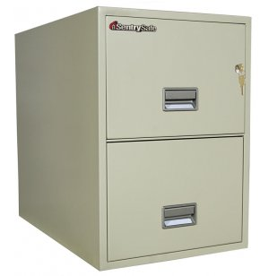2 Drawer Vertical Legal File Cabinet