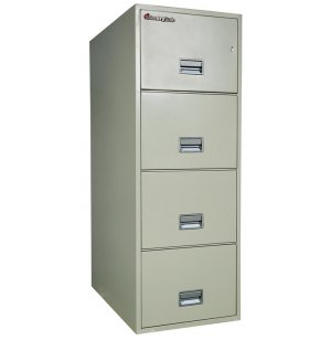 4 Drawer Vertical Legal File Cabinet