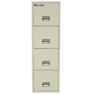 4 Drawer Vertical Letter File Cabinet