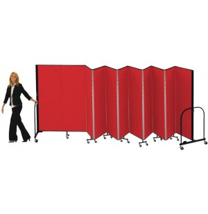 FREEstanding Portable Partition - 11 Panels