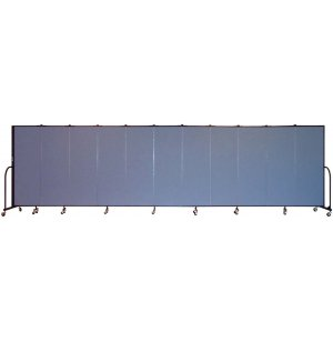 FREEstanding Portable Partition 11 Panel w/Connect