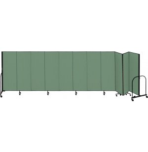 FREEstanding Portable Partition 13 Panel w/Connect