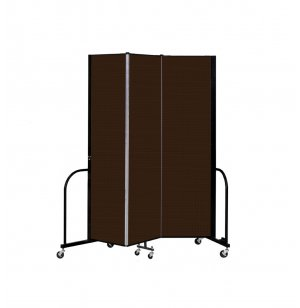 FREEstanding Portable Partitions- 3 Panel w/ Connector
