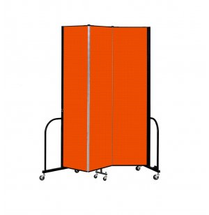 FREEstanding Portable Partitions - 3 Panels w/ Connector