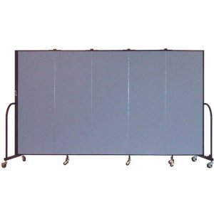FREEstanding Portable Partitions - 5 Panels w/ Connector