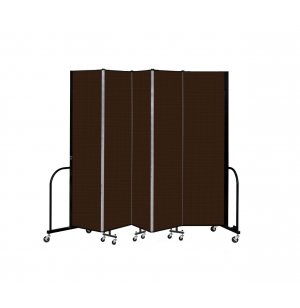FREEstanding Portable Partition 5 Panel w/Connect