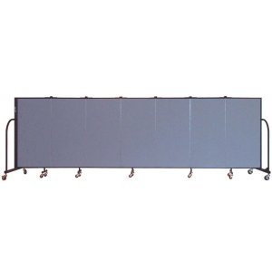 FREEstanding Portable Partition 7 Panels w/Connect