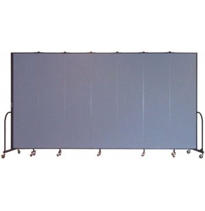 FREEstanding Portable Partitions- 7 Panels w/Connector