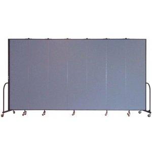 FREEstanding Portable Partition 7 Panel w/Conctr