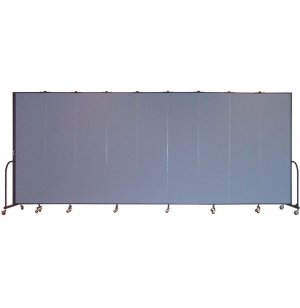FREEstanding Portable Partition 9 Panel w/Conctr