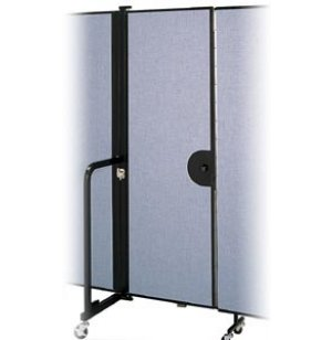 Single Door for Portable Partitions