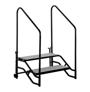 Portable Steps with Handrails for 16H or 24H Mobile Stage