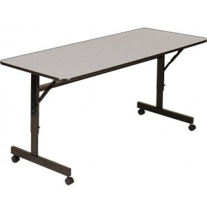 Melamine Flip Top Table