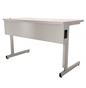 Flip Top Computer Workstation Adj Height