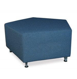 Full Time Mobile Modular Soft Seating - Pentagon, 30