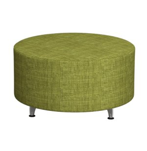"Full Time Mobile Modular Soft Seating - Round, 36"" dia, Gr 2"
