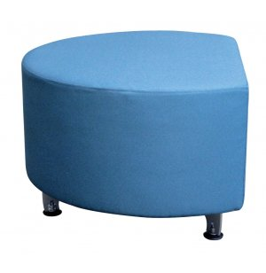 "Full Time Mobile Modular Soft Seating- Half Round, 48"", Gr 2"