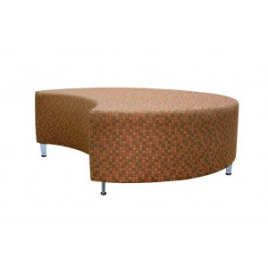 "Full Time Modular Soft Seating - Crescent, 51"" dia., Gr 2"