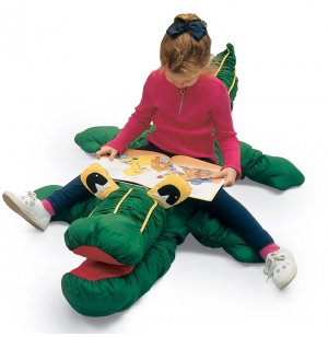 Crocodile Animal Cushion