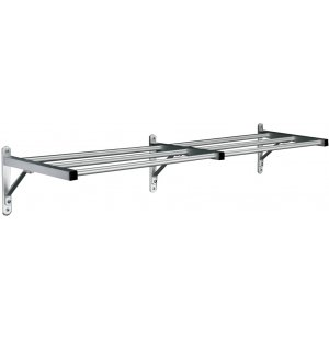 Value-line Wall-Mounted Shelf Rack - 7'