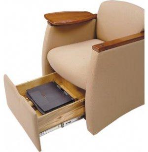 Genesis Team w/Wood Finish & Storage Drawer