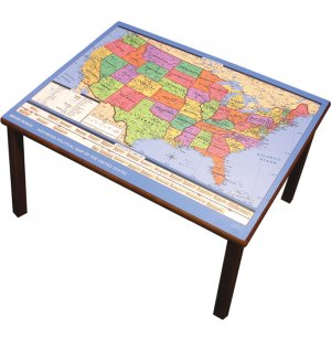 USA Map Table