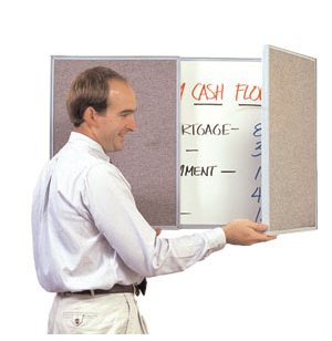 VisuALL Personal Tack-Whiteboard- Beige
