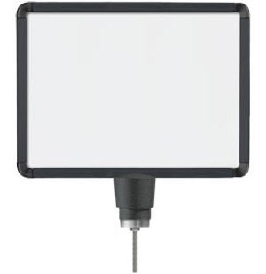 Black Sign Frame for Post