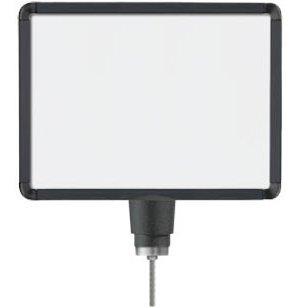 Black Sign Frame for Post