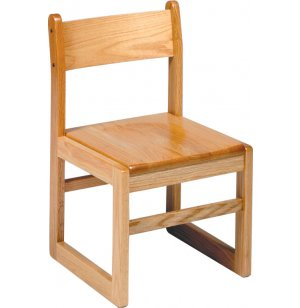 Sled-Base Library Chair