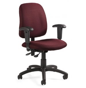 Goal Office Chair with Adjustable Arms & Back