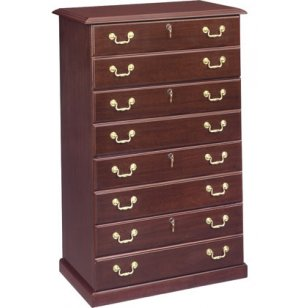 Governors Lateral File Cabinet with 4 Locking Drawers