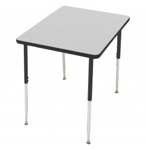 Group Study Adjustable Square Preschool Table