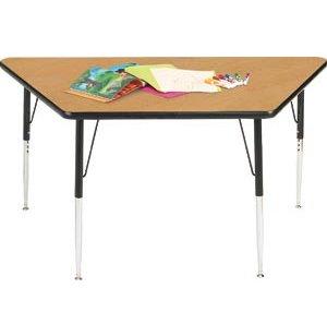 Group Study Adjustable Trapezoid Activity Table