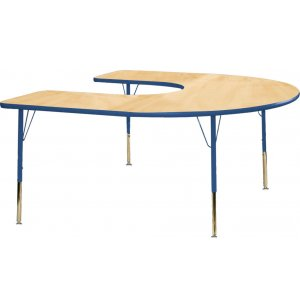 Educational Edge Horseshoe Table