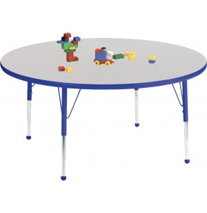 Prima Adjustable Round Activity Table - Ball Glides