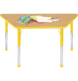 Hercules Trapezoid Color-banded Activity Table