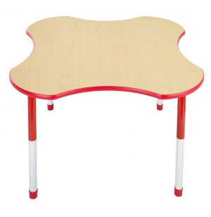 Hercules Adj. Clover Activity Table - Color Trim