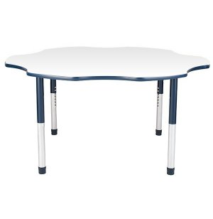 Hercules Adj. Flower Activity Table - Color Trim