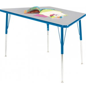 Prima Adjustable Trapezoid Activity Table