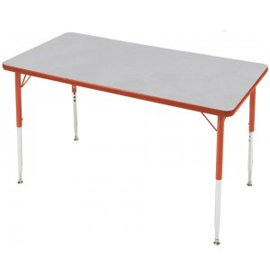 Prima Adjustable Rectangular Activity Table