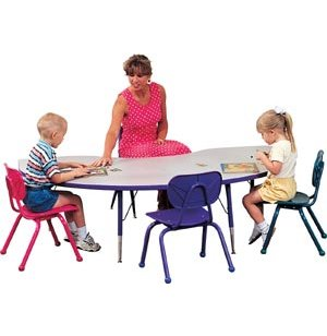Prima Adjustable Kidney Activity Table