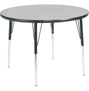 Group Study Adjustable Round School Table