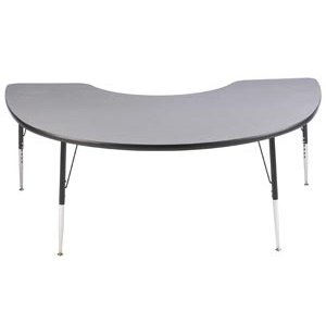 Group-Study Kidney Shaped Table - Toddler Height