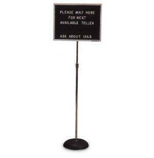 Height-Adjustable Letter-Board Stand