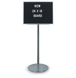 Fixed-Height Letter-Board Stand