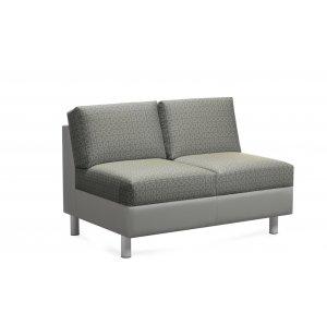 CITI Armless Two-Seat Sofa