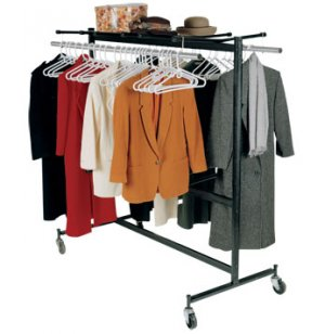 Heavy Duty Portable Coat Rack